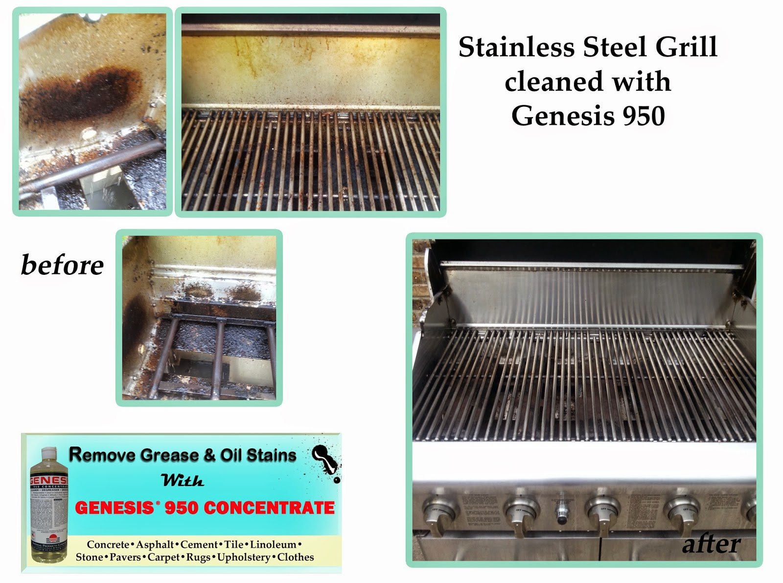 Clean Grease From Stainless Steel