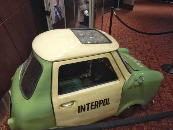 Tiny Interpol car Muppets Most Wanted