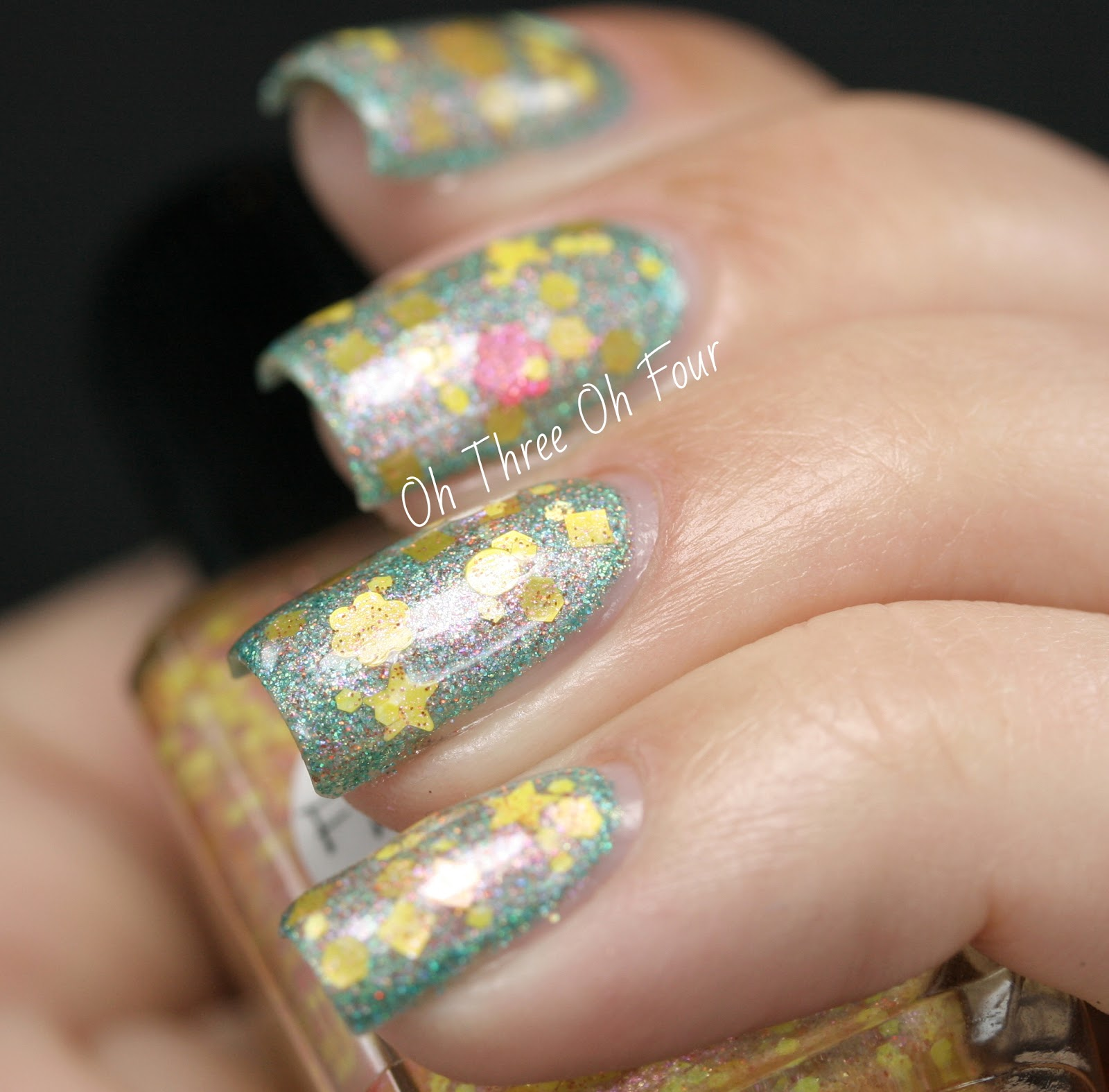 Lynnderella Flowers for Destiney Swatch