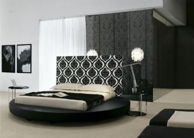 una cama circular