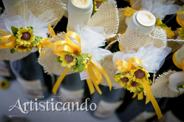 Bomboniere Girasoli Matrimonio : Get married luglio
