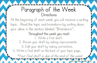 These writing ideas are perfect for keeping parents involved.  Get parents involved in the writing process, writing portfolios, and even writing homework!  (I love this idea for writing homework!)