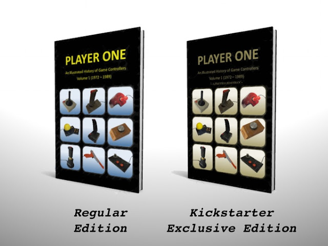 Un libro sobre la historia de los joysticks consigue financiarse gracias a Kickstarter