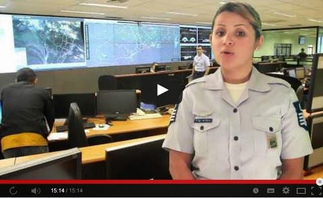 Vídeo sobre as alterações do espaço aéreo na Copa do Mundo 2014