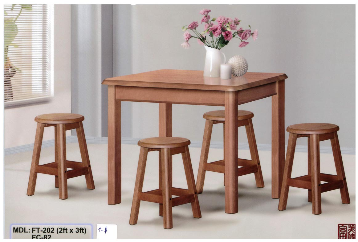 KAIMAY TRADING PTE LTD Projects Wholesaler Dining Set Wooden