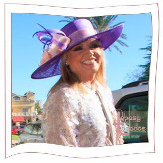 Lydia Lozano no acierta con la elección de pamela en la boda de Víctor Janeiro y Beatriz Trapote.