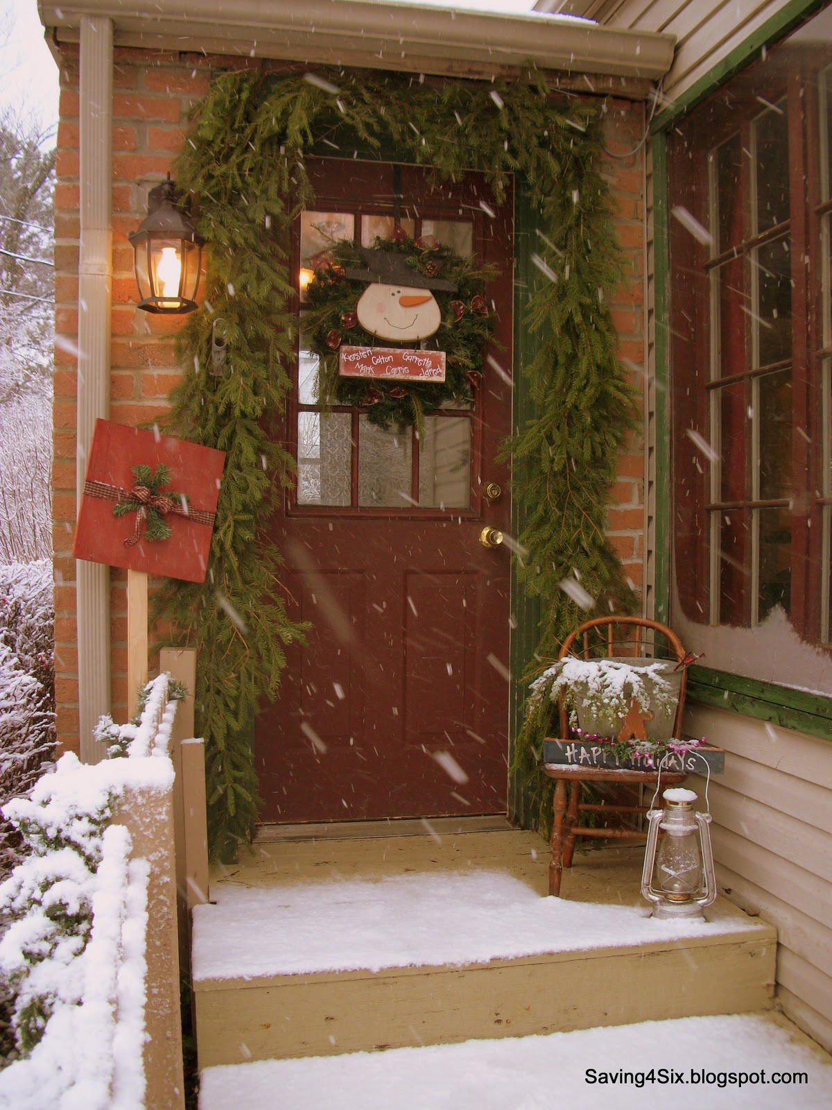 decorating my porch for christmas - How To Decorate My Front Porch For Christmas