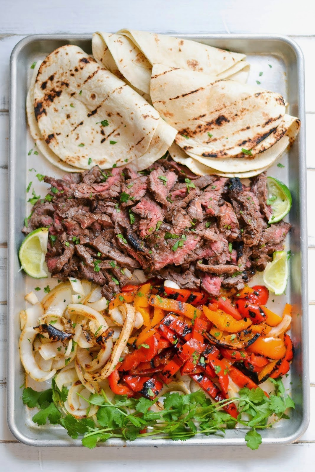 Skirt Steak Fajitas Recipe