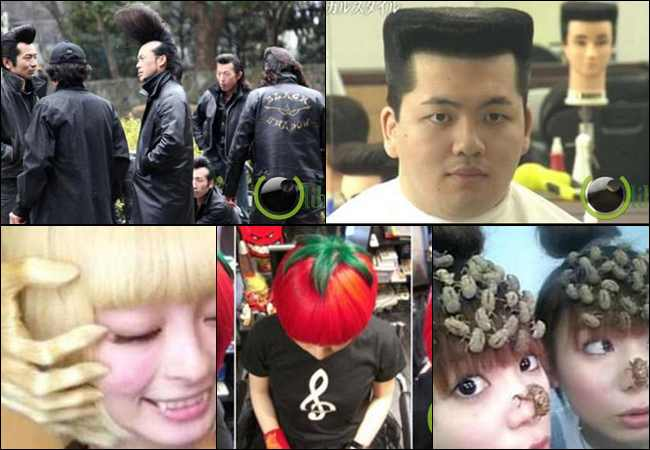 8 Trend Rambut Aneh dari Negara Jepang