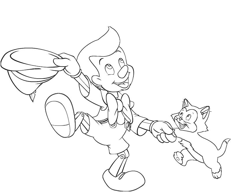 printable-pinocchio-dance-coloring-pages