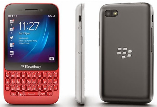 Harga HP BlackBerry Q5