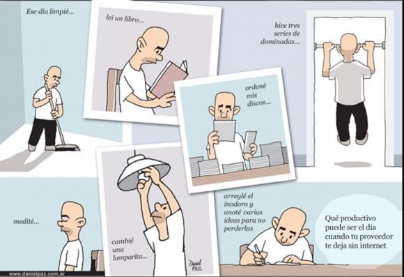 imagenes graciosas - Un día sin Internet
