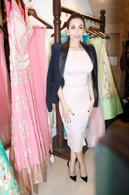 Malaika Arora Khan during the launch of store Anj Kouture in Mumbai