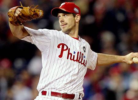 cliff lee phillies jersey. cliff lee phillies 2011.