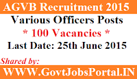 AGVB Recruitment 2015