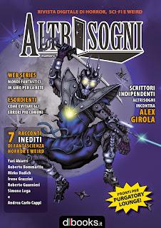La copertina di Giorgio Borroni per quello che doveva essere Altrisogni n.7