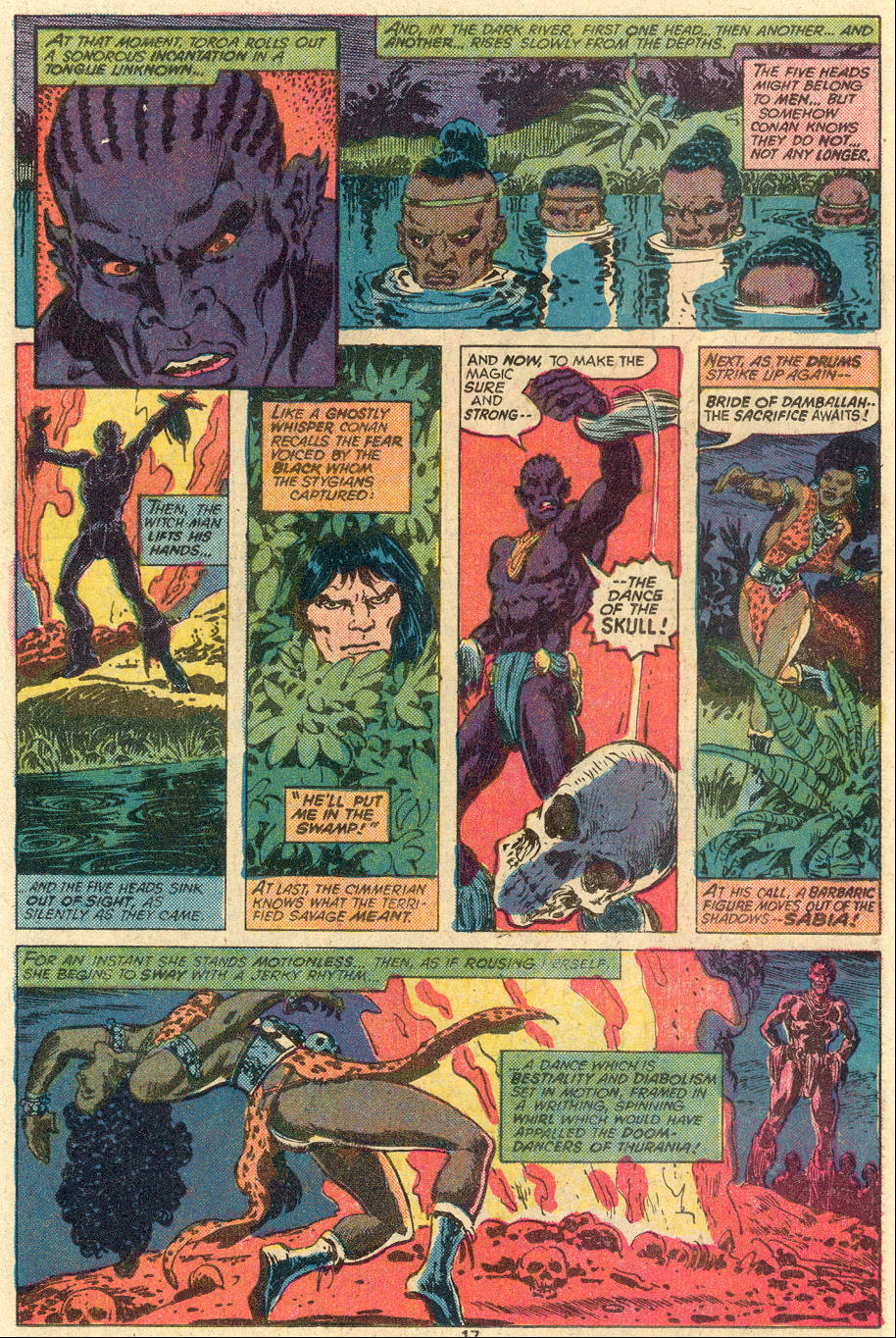 Conan the Barbarian (1970) Issue #83 #95 - English 12