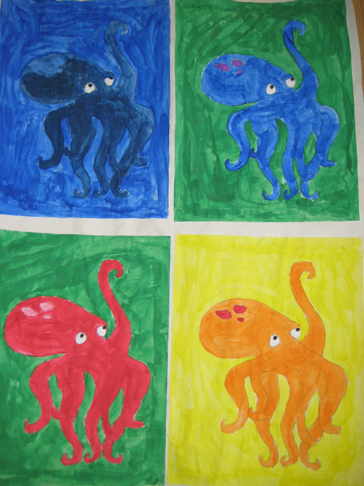 andy warhol color scheme paintings mrs clegg 39 s class blog