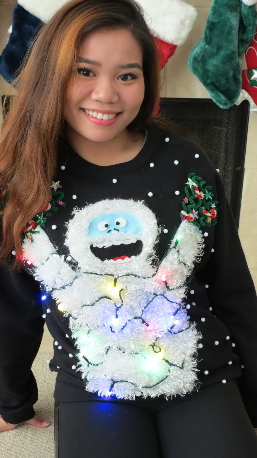 Nonachewy Diy Ugly Christmas Sweater 2014 Abominable
