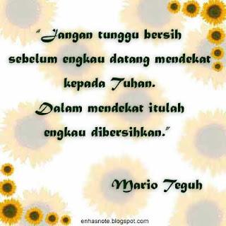 Quotenya oom Mario Teguh