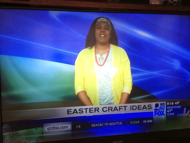 Watch My Easter Crafts Segment For Q13 Fox News