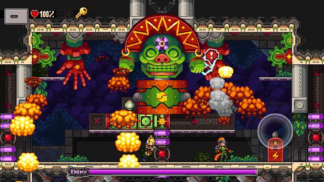 El arte pixelado de Iconoclasts llegará también a PS4 y Vita