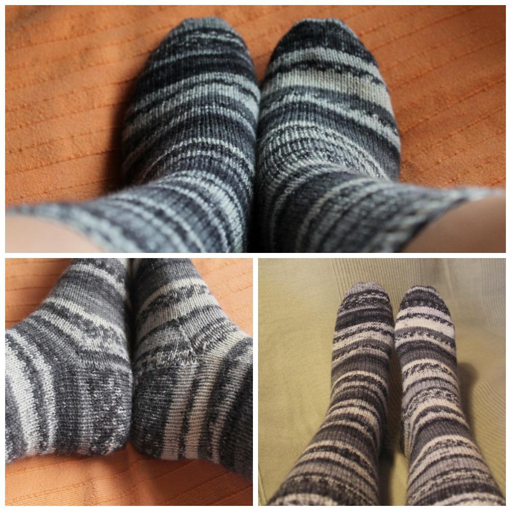 Siona: 005.- Patrón de calcetines con 5 agujas (gratis)
