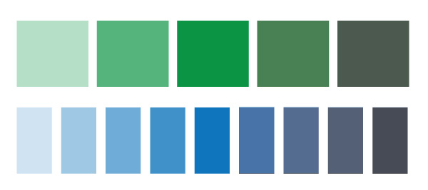 Blue Monochromatic Color Scheme task 3 : using a monochromatic color scheme | all about art's