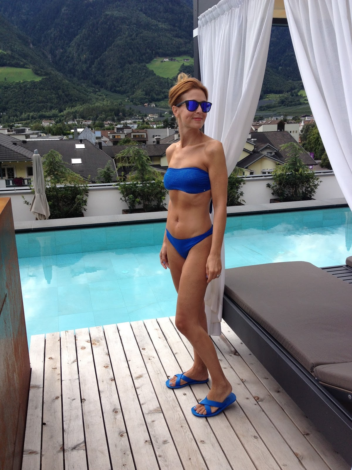 Tezuk blue bikini, Instagram fashion blogger summer recap on Fashion and Cookies fashion blog, fashion blogger style