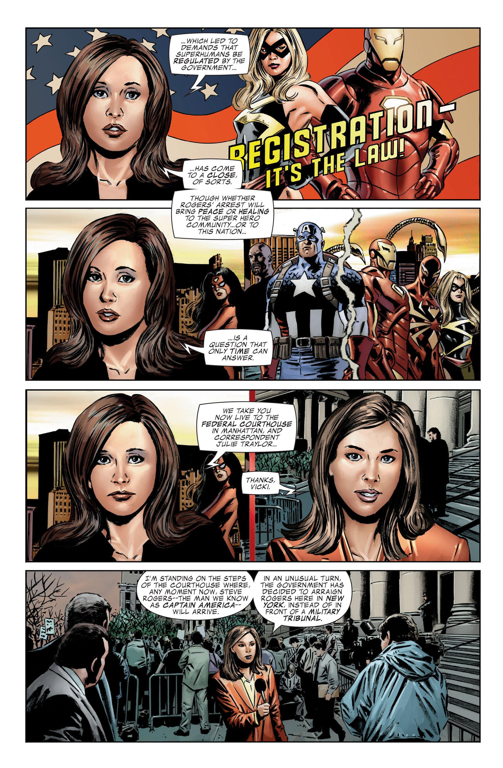 Captain America (2005) Issue #25 #25 - English 7