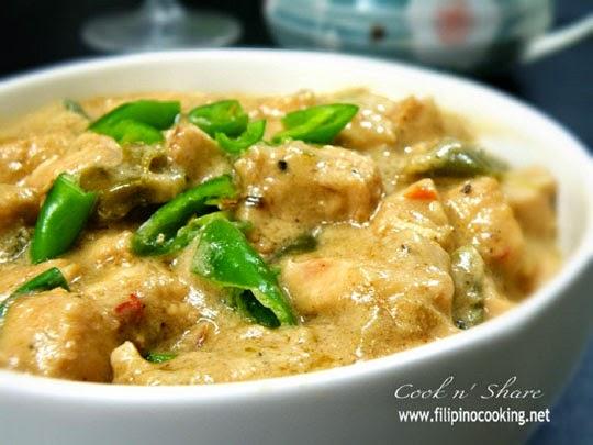 Chicken Bicol Express Filipino Recipe http://goo.gl/fcFQ5p