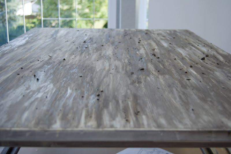 My Own Painted DIY driftwood Table N2