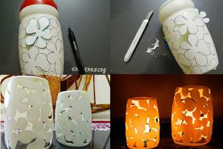 Cara Membuat Lampion dari Botol Plastik Bekas - Bikin Ide - Kerajinan ...