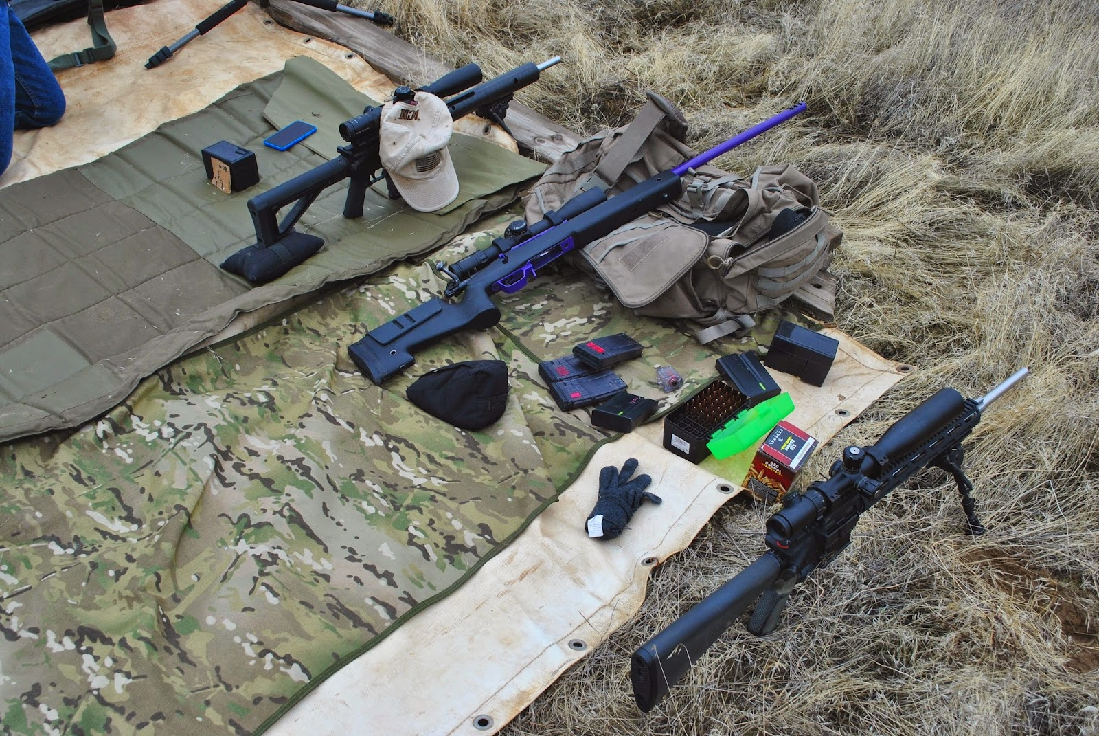 rifle gear set up