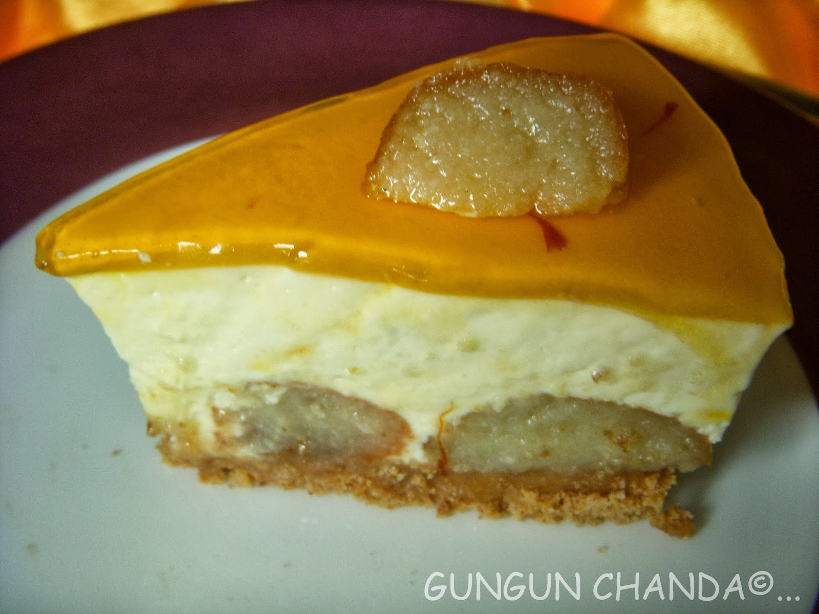 Gulab Jamun Cheese Cake A Fusion Delight Where East Meets West