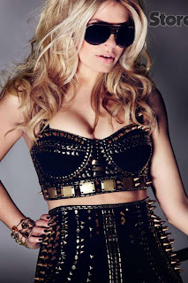 Holly Willoughby Cosmo Covershoot