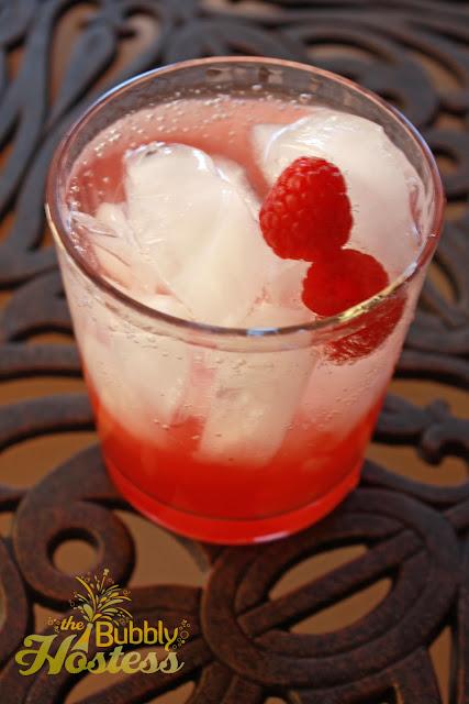 The Bubbly Hostess: Italian Raspberry Cocktail