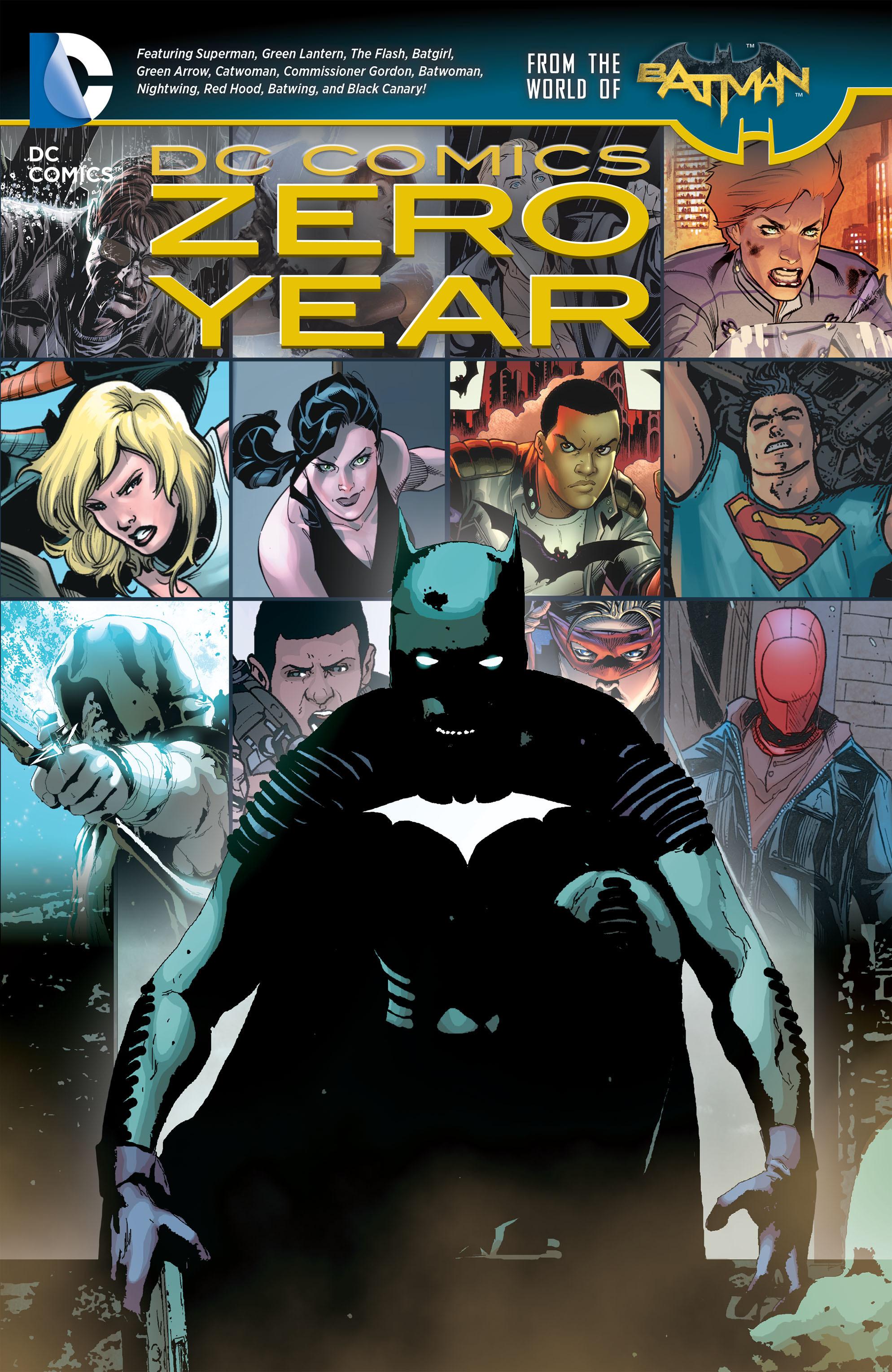 DC Comics: Zero Year chap tpb pic 1