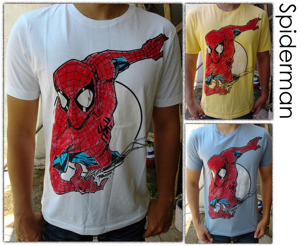 Michiko House Kaos Spiderman SOLD