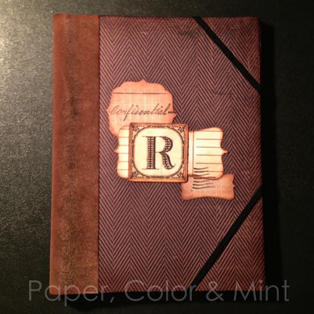 Scrap Cuaderno alterado R completo
