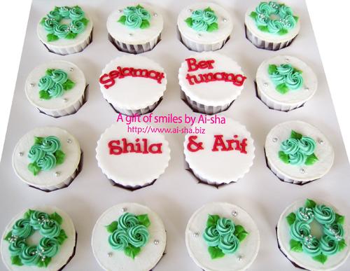 Engagement Cupcakes Ai-sha Puchong Jaya