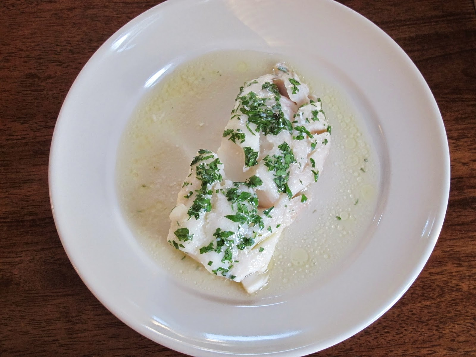 Baked Cod with Sherry & Butter