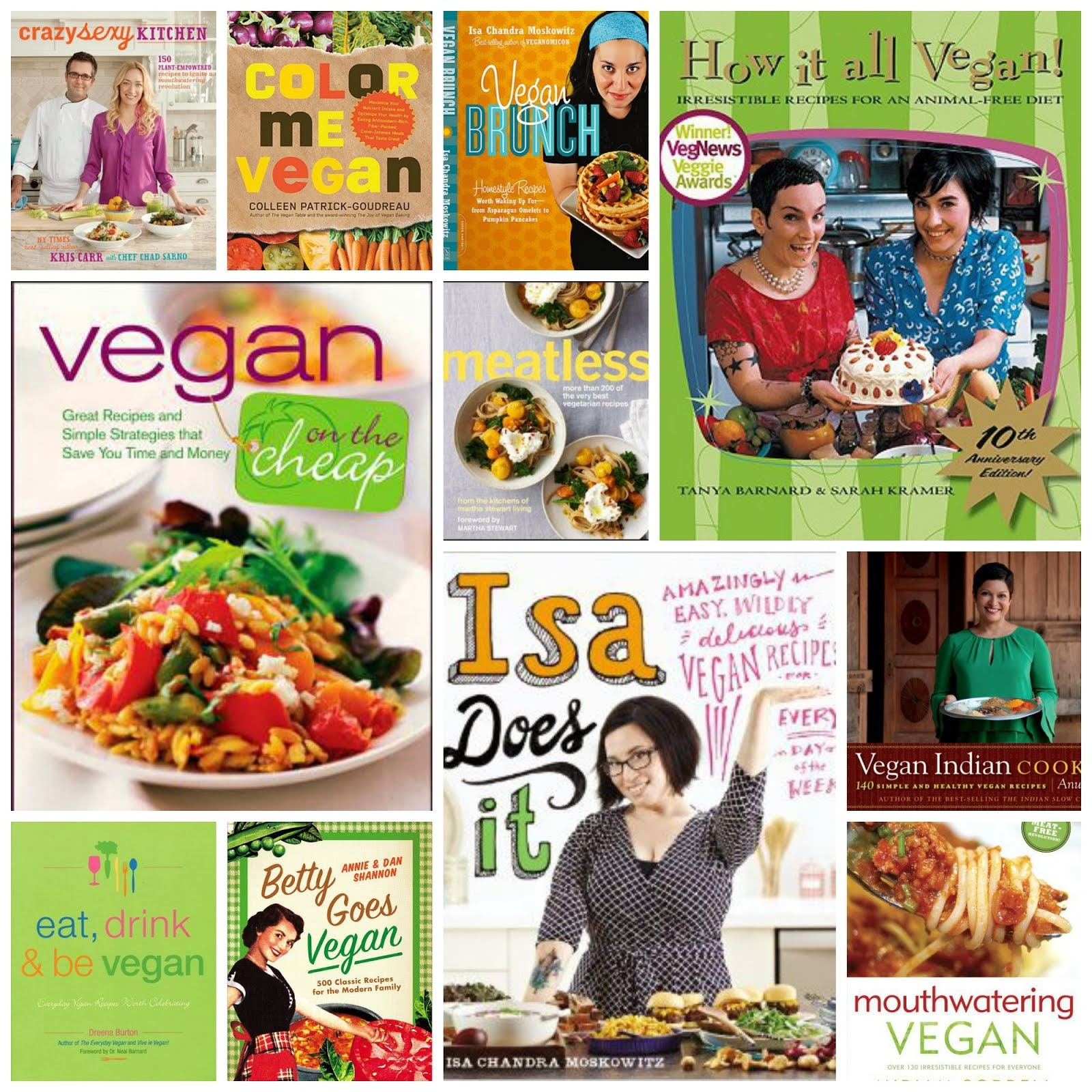 2013 VegCookbook Club Picks