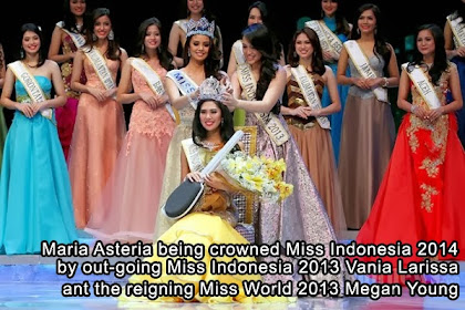 Miss World 2014 - Contestant From Indonesia: Maria Asteria