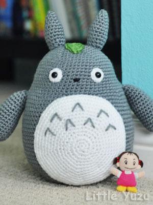 Totoro En Amigurumi : Hay que compartir: Yo quiero un Totoro