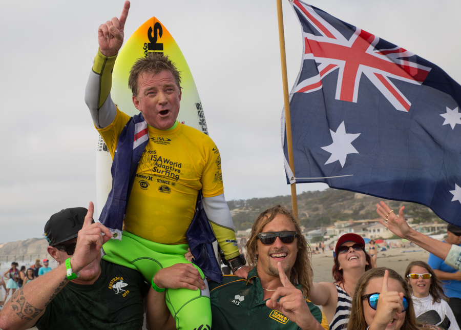 FINAL DAY OF COMPETITION - 2015 ISA World Adaptive Surfing Championship