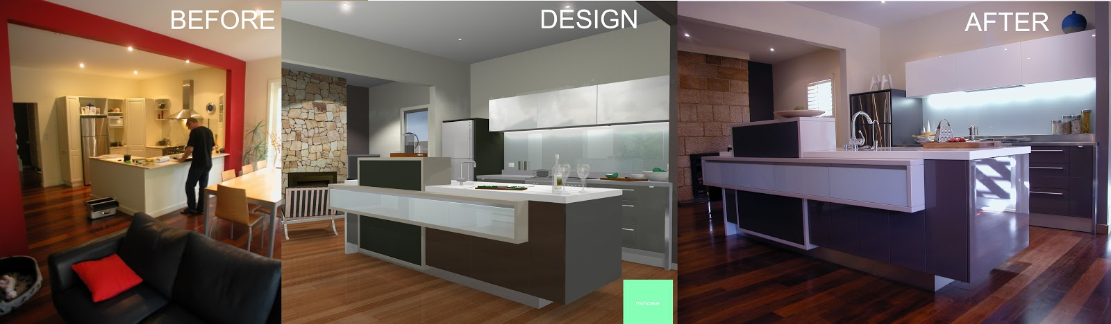 Minosa Balmain Kitchen Working With One Wall