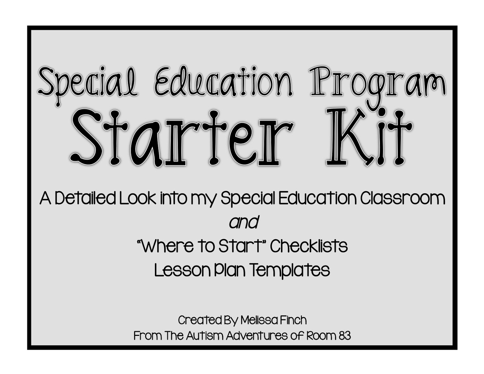 How To Set Up A Special Education Program
