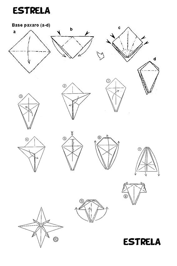 video tutorial estrella navidad en origami