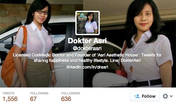 Twitter Dr Asri